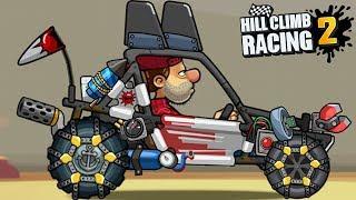 Hill Climb Racing 2 - Dune Buggy Tunning Parts All At MAX 😍😍