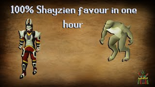 100% Shayzien favour in one hour guide