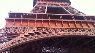Eiffel Tower - What an amazingly beautiful structure.
