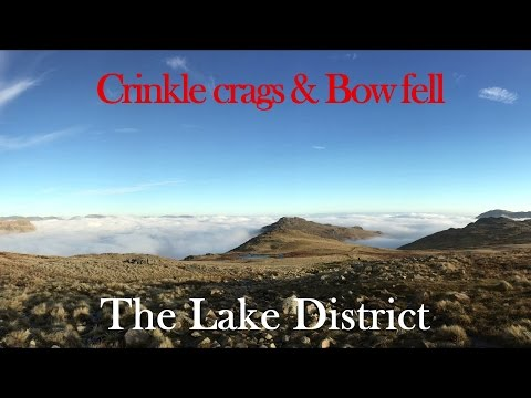 [Crinkle Crags & Bowfell Wild Camp]