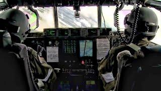 RAAF C-130J Super Hercules Cockpit & Cargo Bay View