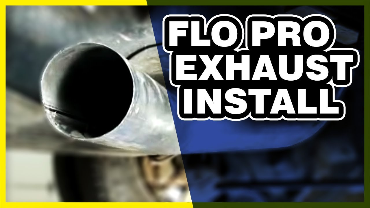 flo pro exhaust install overview 2008 dodge 6 7l cab chassis 645 [ 1280 x 720 Pixel ]
