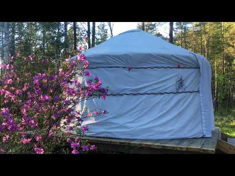 Yurt campings - rapid construction and immediate payback! http://yurtalux.com