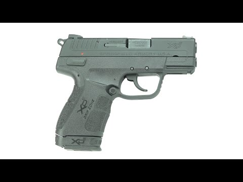 First Look: Springfield Armory XD-E