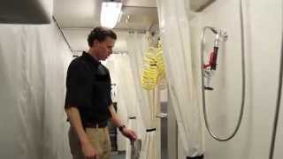 Portable Restrooms Trailer | Decon Trailer Mass Casualty & Technical Team Response Preparedness