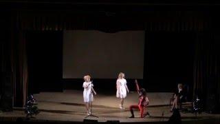 AKB0048 сosplay family - Temodemo no namida (Tomochin & Yuuko)