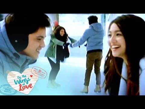 On The Wings Of Love: Ice Skating