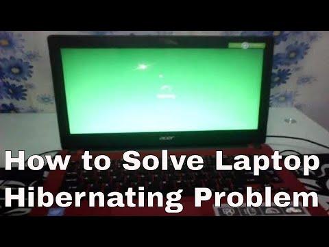 How To Solve Laptop Hibernating Problem | Windows 10 Laptop Screen Stuck Hibernating