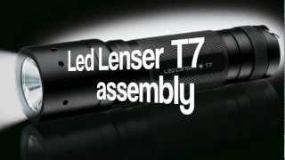 Led Lenser T7 assembly