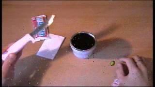 Воронение ножа в кока-коле, в домашних условиях(В этом видео представлен один из способов воронения углеродки в коле/спрайте/фанте (нужное подчеркнуть)...., 2012-11-02T19:30:53.000Z)