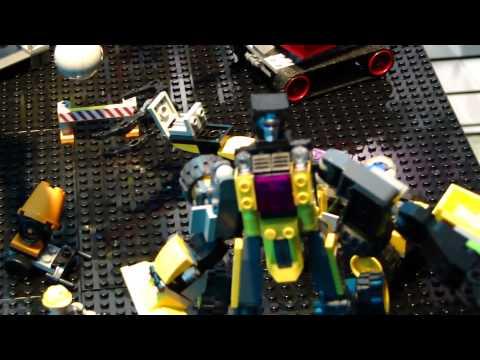 Kre-O Transformers Devastator Play Set - Toy Fair 2012
