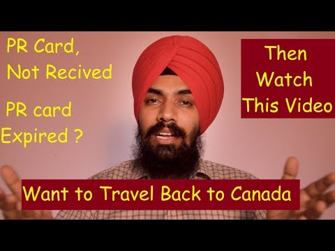 Want To Travel Back To Canada!! Even Without PR Card!! PRTD!! # ShavinderSingh