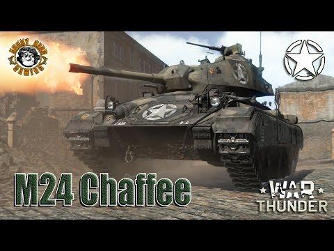 War Thunder: The M24 Chaffee, American Tier-3, Light Tank