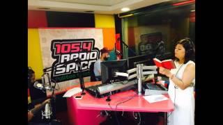Moh Moh Ke Dhaage | Unplugged Female | Song By Poornima | Spice Radio 105.4 FM Dubai