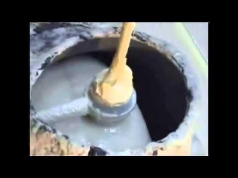 видео: заливка раковины