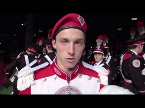 Behind The Scenes At The Ohio State Marching Band London Show At Wembley Stadium 10 25 2015