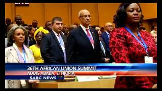 the 26th african union summit gets underway