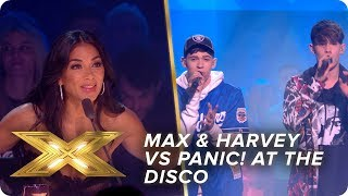 Game on! Max & Harvey Vs Panic! At The Disco | Live Show 4 | X Factor: Celebrity