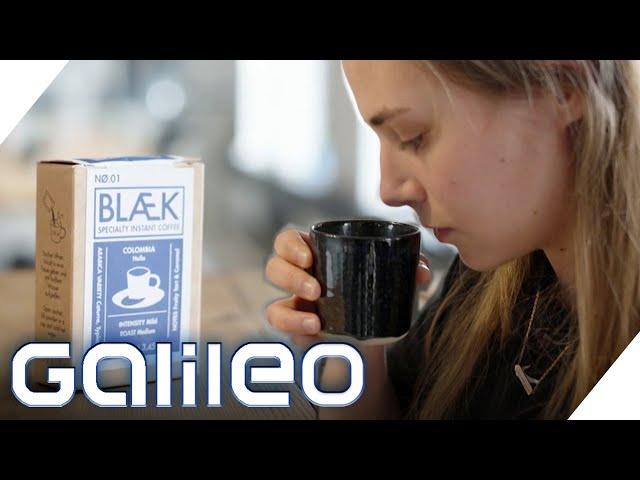 Deluxe Instant-Kaffee im Test: Schmeckt er wirklich wie vom Barista? | Galileo | ProSieben
