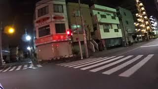 自転車の車載動画です。東京足立区の東保木間2丁目付近から、国道4号日...