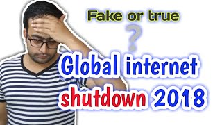 Global Internet shutdown Expected for 2 Days || Is it true || 48 Hours