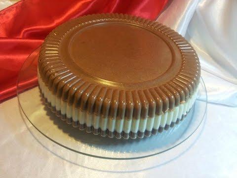 Торт Птичье молоко без выпечки. Желейный торт