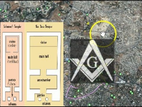 King Solomon's Temple, Hiram Abif,  and the Mystery Master Builders!  888