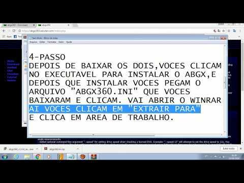 CORREÇÃO ABGX!! NOVA HOST LANÇADO!!! LINK NA DESCRIÇÃO ATUALIZADO 2019 17/04/19