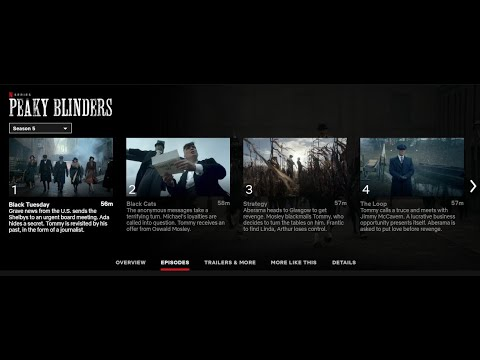 Peaky Blinders season 5 is now on Netflix - Can't find it?