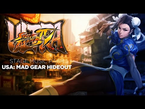 Captain Mazda's Ultra Street Fighter IV Music Mod: Mad Gear Hideout