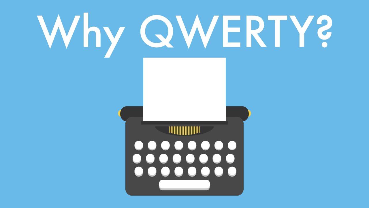 KAMU HARUS TAHU !!! Kenapa Susunan Keyboard Gak Berurutan & Berbentuk QWERTY?
