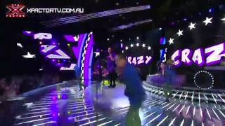 Crazy - Live Show 1 - The X Factor 2012 .