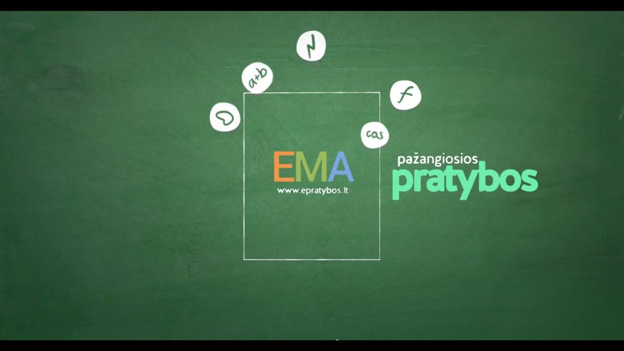 Pažangiosios EMA pratybos - YouTube