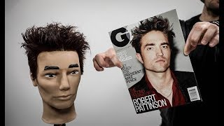 Robert Pattinson Haircut Tutorial | MATT BECK VLOG S2 E12