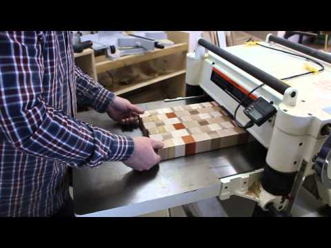 End grain through the planer: the safety