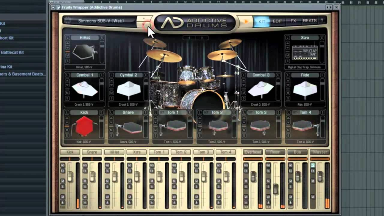 addictive drums programming drums in 3 easy ways using fl studio youtube. Black Bedroom Furniture Sets. Home Design Ideas