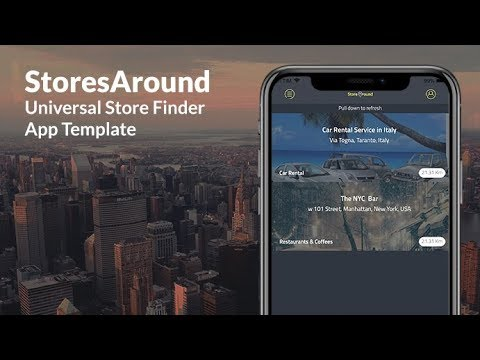 Stores Around  Store Finder App Template Swift