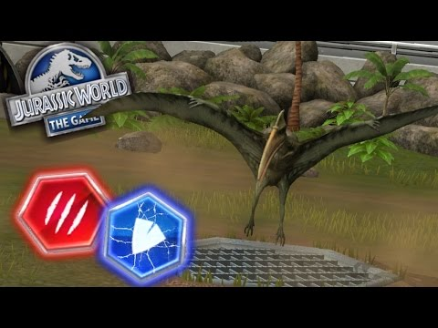 EASY ATTACK GLITCH ?! PTEROSAUR MATCH-UP ?! |Jurassic World The Game|Ep 133