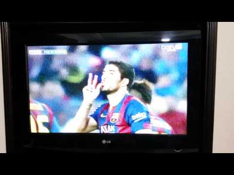 Luiz suarez 2nd goal vs getafe