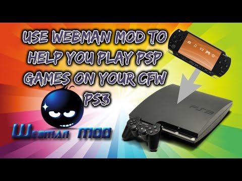 Play Psp Games On Ps3 With Help From Webman Mod - YouTube