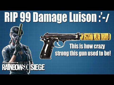 Luison Damage Test: Part 1 - Rainbow Six | Siege