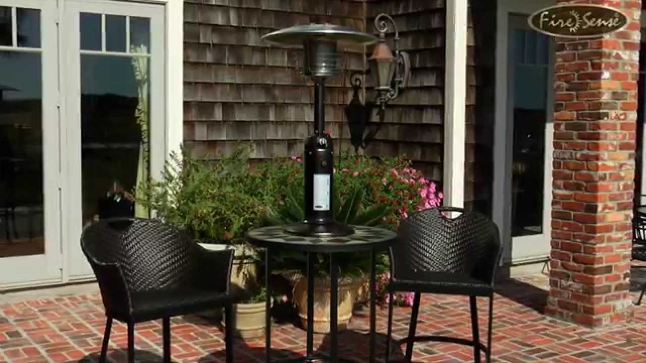 Hammer Tone Bronze Finish Table Top Patio Heater 61322