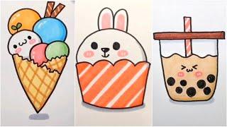 Vẽ hình cute đáng yêu, Những hình vẽ siêu cute