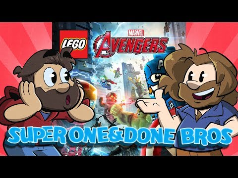 One and Done Bros | Let's Play: Lego Avengers | Super Beard Bros.