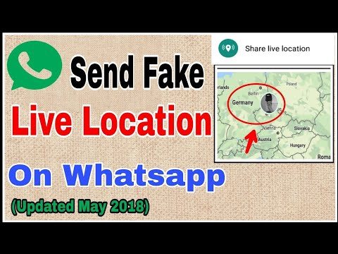 Send Fake LIVE LOCATION On Whatsapp (may2018 Updated)