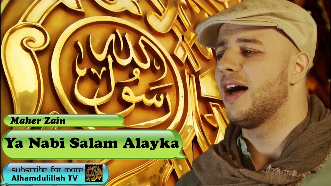 Ya Nabi Salam Alaika Arabic Audio Naat With Lyrics Maher Zain