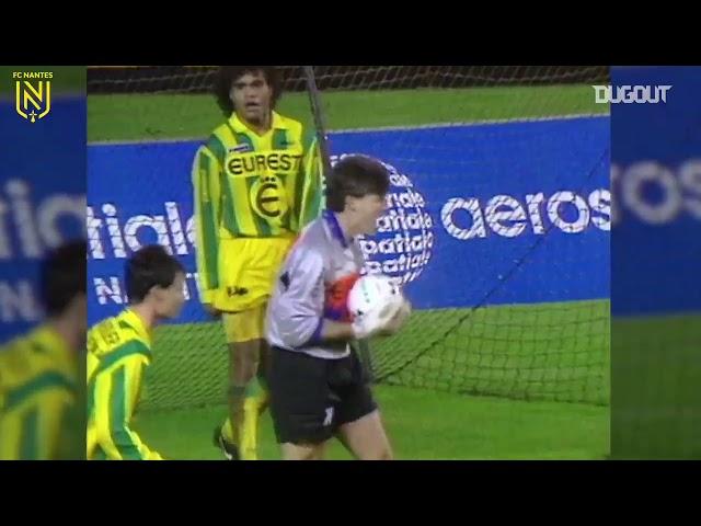 FC Nantes - Nîmes (Saison 1992-1993) : 2-0