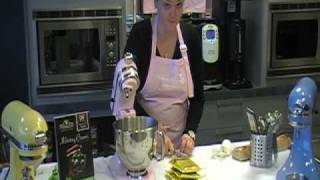 12 - Working With The Artisan Stand Mixer /// Herbed Goat Cheese Spread.