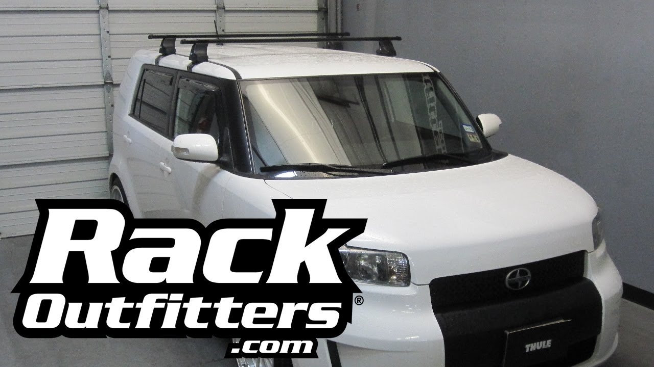 Scion Xb Thule Traverse Square Bar Roof Rack 08 14 By