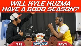 WIll Kyle Kuzma have a good season? | Hoops N Brews